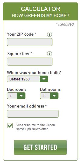 GreenPoint Rated's Green Home Calculator
