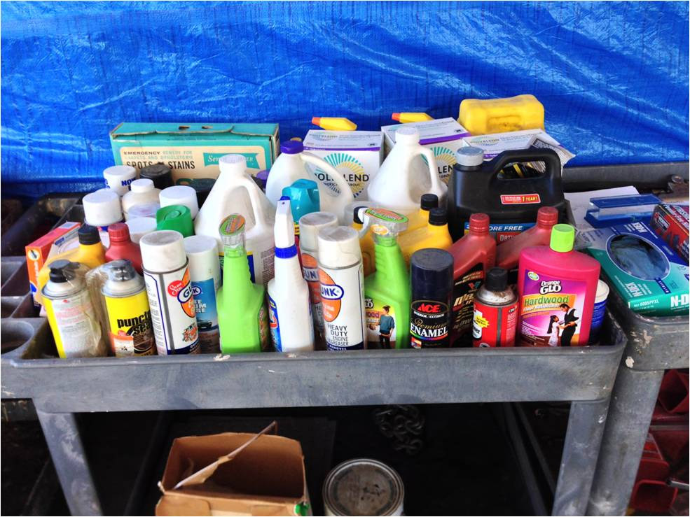 Take Household Hazardous Waste And Electronics To Local Collection  Facilities