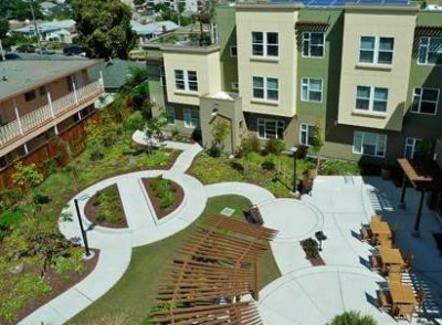 Estabrook Senior Housing, San Leandro - Bay-Friendly Rated in 2010
