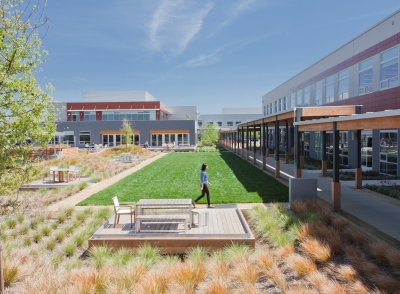 VF Outdoor's Bay-Friendly Rated office campus in Alameda
