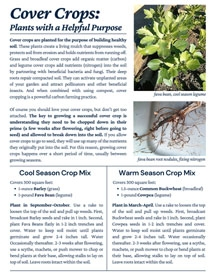 cover crop resource