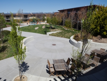 Shinsei Gardens Apartments, Alameda - A Bay-Friendly Rated Landscape