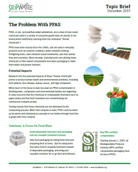 The problem with PFAS