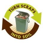 Food scrap recycling logo