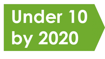 Under 10 by 2020