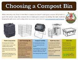 choosing a compost bin