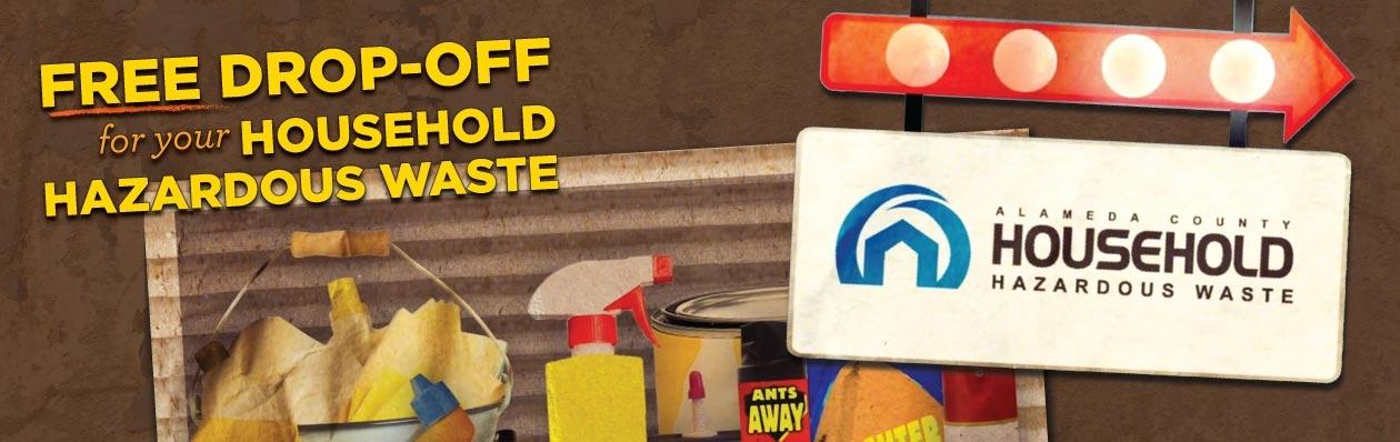 Hazardous waste disposal for Household hazardous waste facility design