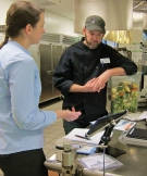 Smart Kitchen Iniative: Using the LeanPath monitoring system to track preconsumer food waste.